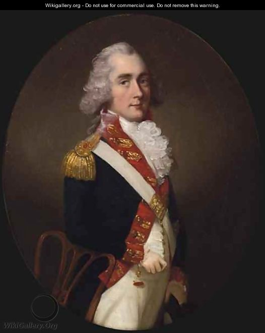Portrait of an Officer of the East India Company Army - Thomas Hickey