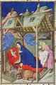 Hours of Notre Dame Prime The Birth of Christ from the Tres Riches Heures du Duc de Berry - Jacquemart De Hesdin