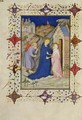 Hours of Notre Dame Laudes The Visitation from the Tres Riches Heures du Duc de Berry - Jacquemart De Hesdin