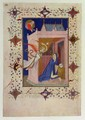 Hours of Notre Dame Matins The Annunciation from the Tres Riches Heures du Duc de Berry - Jacquemart De Hesdin