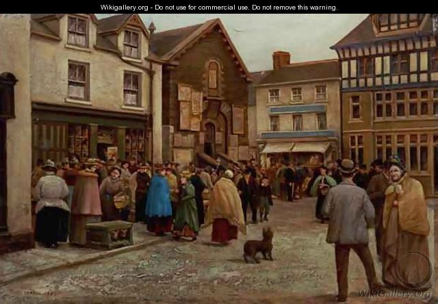 Warrington street scene - T. Hesketh