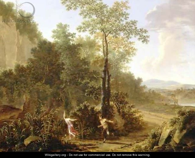 Pan and Syrinx - Willem de Heusch