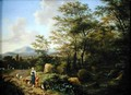 Landscape with Peasants and Goats - Willem de Heusch