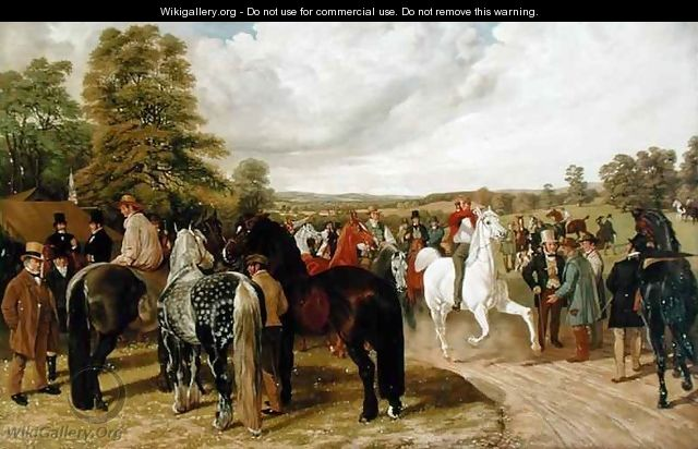 The Horse Fair Southborough Common - Benjamin Herring, Jnr.