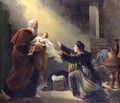 Elijah Resuscitating the Son of the Widow of Sarepta - Louis Hersent