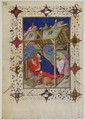 Hours of Notre Dame Prime The Birth of Christ from the Tres Riches Heures du Duc de Berry 2 - Jacquemart De Hesdin