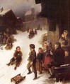 The Sledge Ride - Johann Ferdinand Julius Hintze