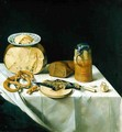 Breakfast Still Life - Johann Georg (also Hintz, Hainz, Heintz) Hinz