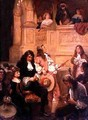 Flirtation at the Opera - Robert Alexander Hillingford