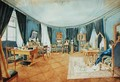 An Artists Room in Vienna - Ludwig Hild