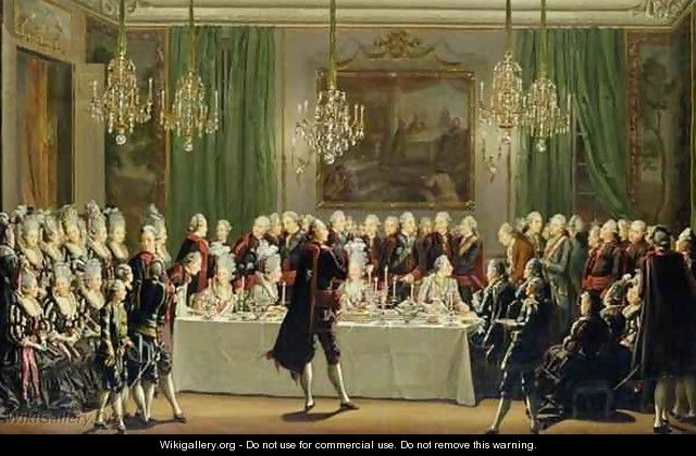 Stockholm Palace New Years Eve 1779 - Pehr Hillestrom