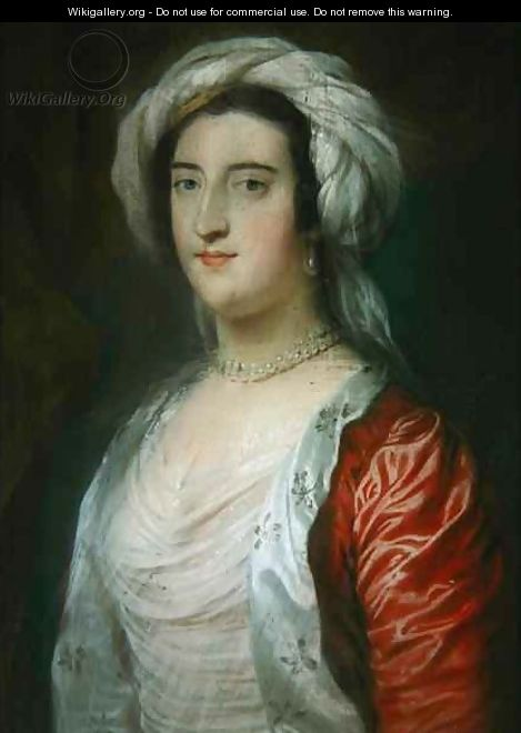 Caroline 1723-74 1st Lady Holland - William Hoare