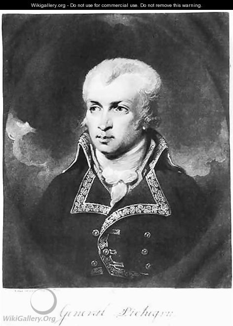 General Charles Pichegru 1761-1804 - Charles Howard Hodges