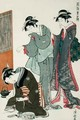 Dozing Tea Seller - (after) Hiroshige, Ando or Utagawa