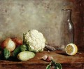 Still Life with Cauliflower 2 - Alfred Hirv