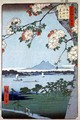 Suigin Grove and Masaki on the Sumida River from One Hundred Famous Views of Edo Tokyo - Utagawa or Ando Hiroshige