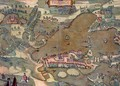 Map of Plon from Civitates Orbis Terrarum - (after) Hoefnagel, Joris