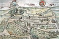 View of Lowicz from Civitates Orbis Terrarum - (after) Hoefnagel, Joris