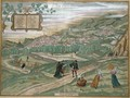 Map of Granada from Civitates Orbis Terrarum Volume I number 4 - (after) Hoefnagel, Joris