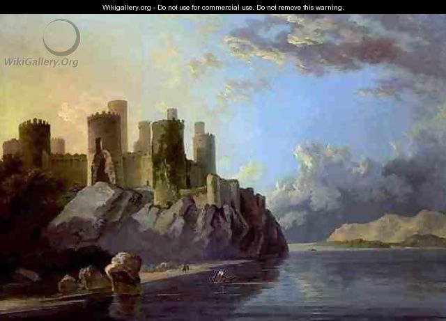 Conway Castle - William Hodges