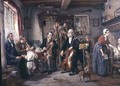 A Philharmonic Rehearsal in a Farmhouse - John Evan Hodgson