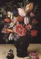 Still Life of Flowers 2 - Kasper or Gaspar van den Hoecke