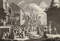 Emblematical print of the South Sea - William Hogarth