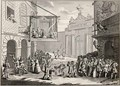 Masquerades and Operas Burlington Gate from The Works of Hogarth - William Hogarth