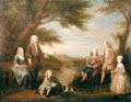 John and Elizabeth Jeffreys and their Children - William Hogarth