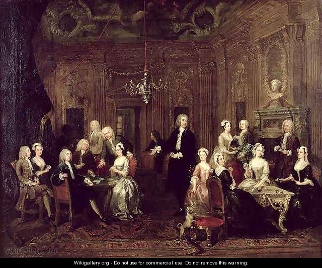 The Wollaston Family - William Hogarth
