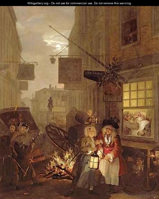 Night - William Hogarth