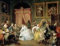 Marriage a la Mode IV The Toilette - William Hogarth