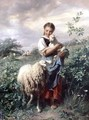 The Shepherdess - Johann Baptist Hofner