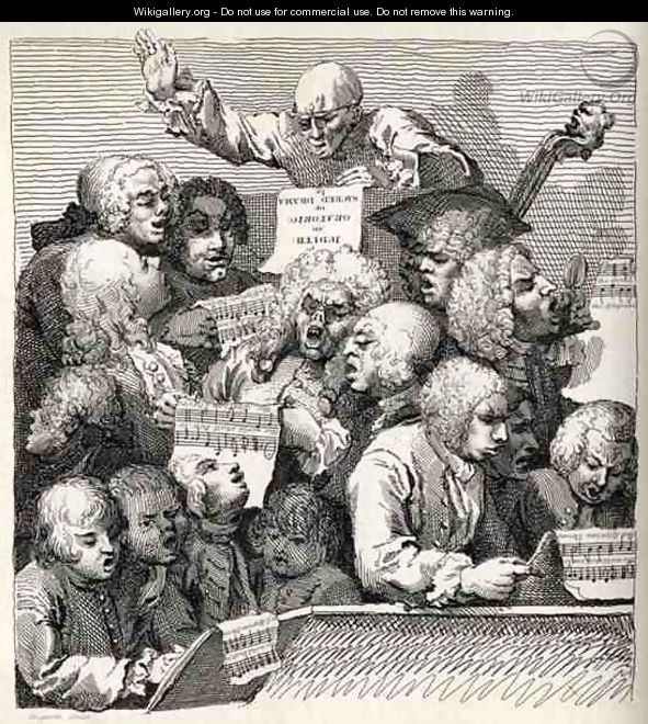 The Chorus from The Works of William Hogarth - William Hogarth
