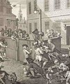 First Stage of Cruelty - William Hogarth