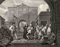 The Gate of Calais or O The Roast Beef of Old England - William Hogarth