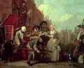 A Rakes Progress IV The Arrested Going to Court - William Hogarth