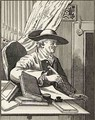 Dr Thomas Morell from The Works of Hogarth - William Hogarth