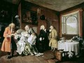 Marriage a la Mode VI The Ladys Death - William Hogarth