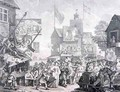 Southwark Fair - William Hogarth
