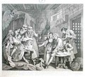 The Rake in Prison plate VII from A Rakes Progress - William Hogarth