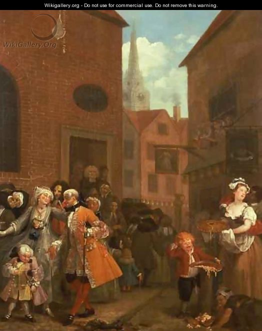 Noon william hogarth the largest for William hogarth was noted for painting