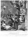 Credulity Superstition and Fanaticism - William Hogarth