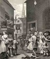 Times of the Day Noon from The Works of William Hogarth - William Hogarth