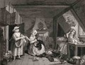 The Distressed Poet from The Works of William Hogarth - William Hogarth