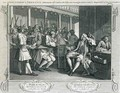 The Industrious Prentice Alderman of London the Idle one Impeachd Before Him by his Accomplice plate X of Industry and Idleness - William Hogarth