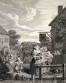 Times of the Day Evening from The Works of William Hogarth - William Hogarth