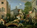 The Election IV Chairing the Member - William Hogarth