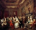 The Assembly at Wanstead House - William Hogarth