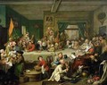 An Election Entertainment - William Hogarth
